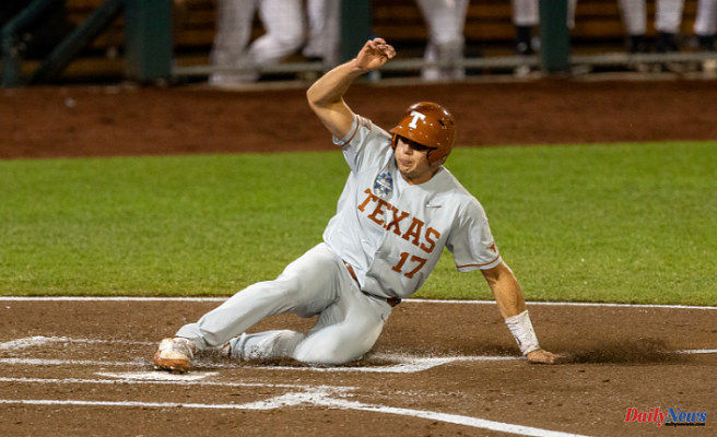 Texas baseball wins the College World Series with a 6-2 victory over Virginia