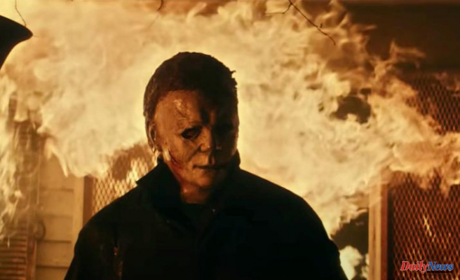 Trailer for 'Halloween Kills: Oh my goodness, he's back!
