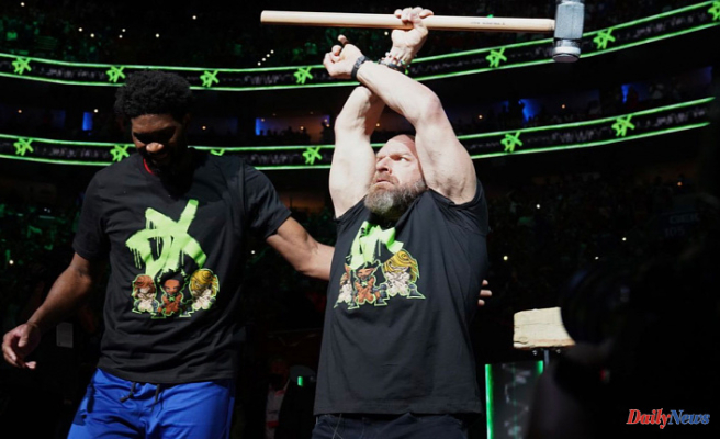 Triple H opens the semifinals in the NBA play-offs