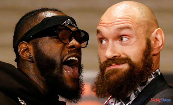 Tyson Fury and Deontay Wilder in Stressed face-off -- Fury Forecasts:'I Promise he does N't go Beyond [Around seven]'