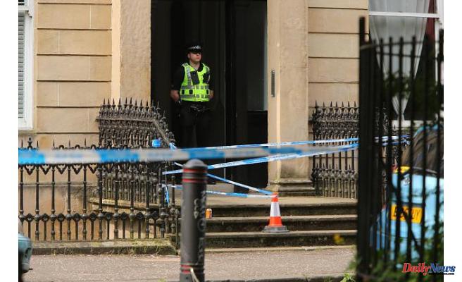West Princes Street: Murder cops Start Evaluation after woman found dead