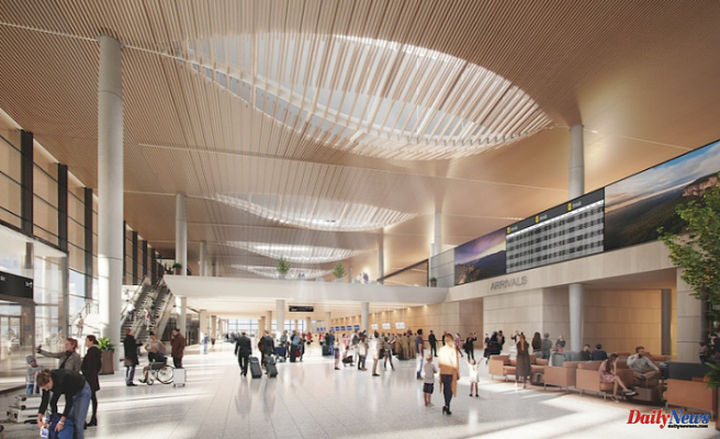 Western Sydney International Airport terminal Made to Create a stress-free Traveling experience