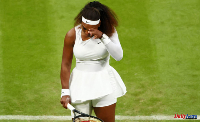 Wimbledon 2021: Serena Williams has to withdraw from the first round after sustaining an ankle injury