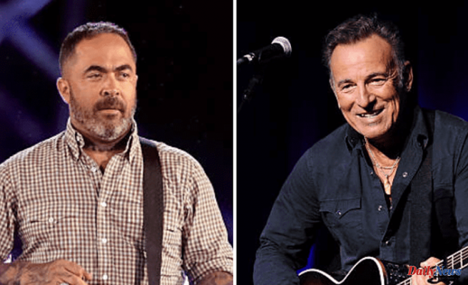 """Aaron Lewis attacks Bruce Springsteen in an anti-Left single. Internet calls him """"artistically bankrupt"""""""