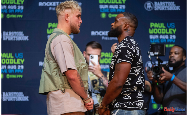 Announcement: Tyron Woodley vs. Jake Paul for August 29th