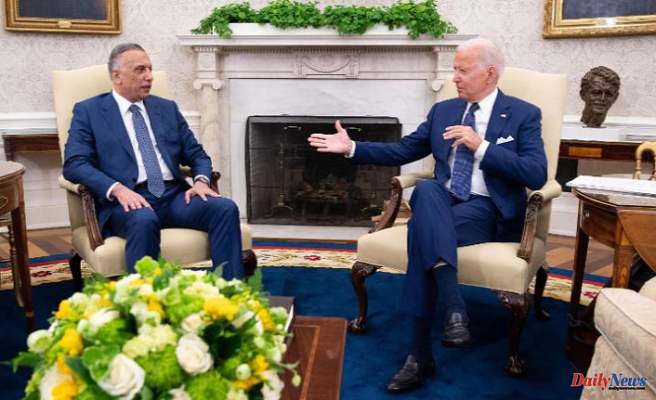 Biden ends the combat mission in Iraq and shifts US foreign policy emphasis