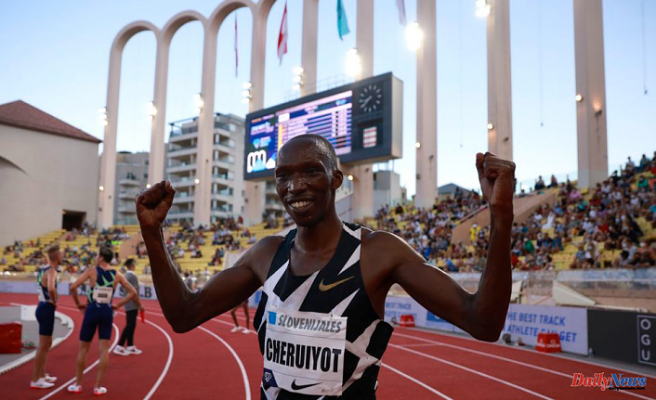 Cheruiyot gets over his Olympic disappointment to win the Diamond League