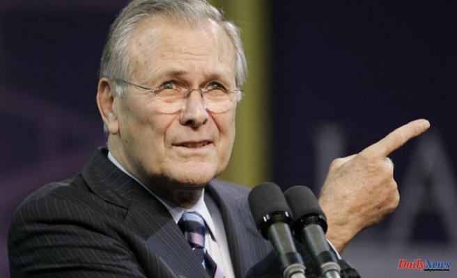 Donald Rumsfeld, a clever leader who was undermined by the Iraq war