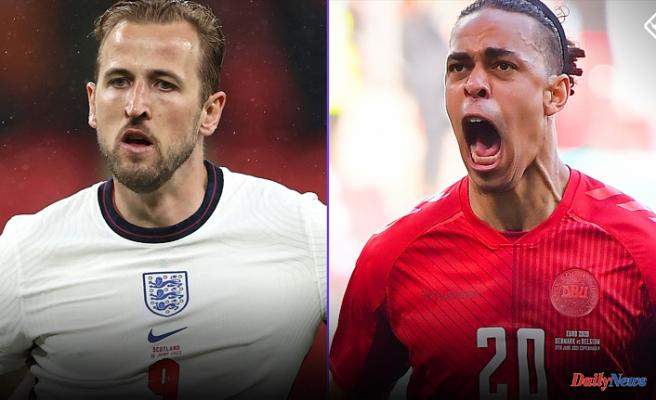 England vs. Denmark: Time and lineups, TV streams, odds, prediction, for Euro 2021 semifinal