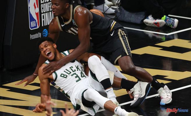 Giannis Antetokounmpo injury - Updates on Bucks star's hyperextended leg