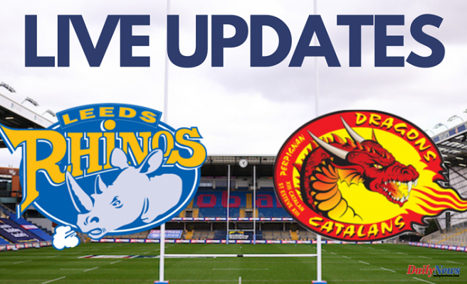 Highlights: Leeds Rhinos lose to league leaders Catalans Dragons