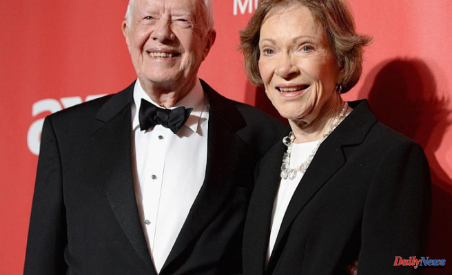 Jimmy Carter and Rosalynn reveal secrets to their 75-year marriage -- including 'Plenty Of Space'