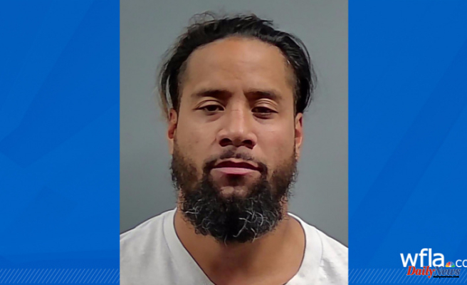 Jimmy Uso, WWE star wrestler, is again arrested in Florida for DUI