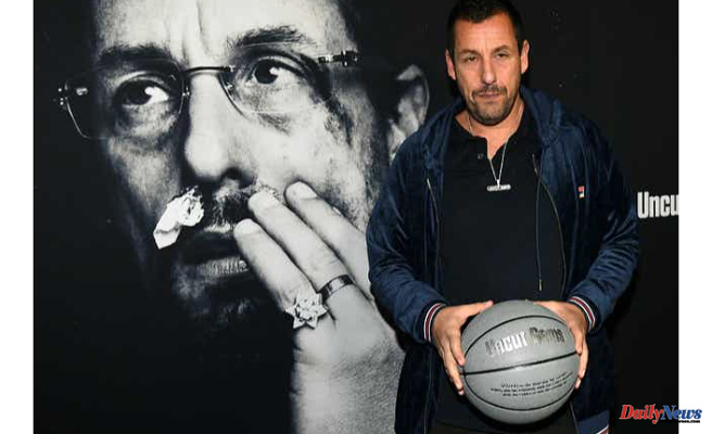 LeBron James' film stars Adam Sandler, who wants to host a b-ball tryout at Wilmington. It might not happen, however