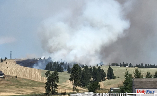 Level 2 Evacuations for 40-acre Andrus Fire near Cheney