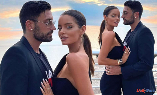Maura Higgins takes her FIRST picture with Giovanni Pernice, her boyfriend