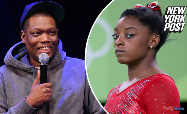 Michael Che made cruel remarks about Simone Biles. He claimed he was hacked
