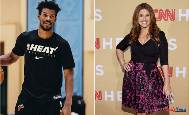 """NBA Fan fuels Rumors About Rachel Nichols and Jimmy Butler: """"I don't think Jimmy Butler was 'Dribbling a Basketball' in the Hotel Room..."""""""