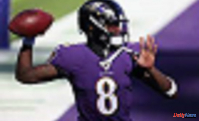 NFL coaches and executives ranked Lamar Jackson as the top 8 QB