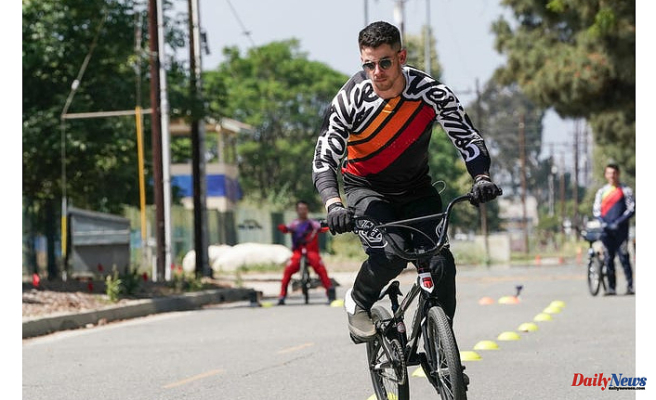 Nick Jonas discovers that BMX racing can be 'no joke' and fractures ribs in 'Olympic Dreams Special'