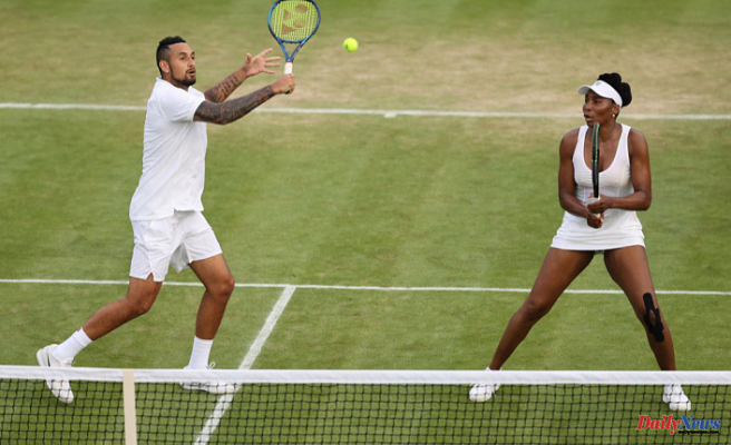 Nick Kyrgios might have some 'heartbreaking Wimbledon news' for Venus Williams
