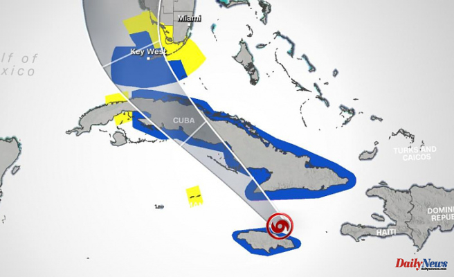 The tropical storm Elsa slows down and weakens but there is still a tropical storm watch in place for South Florida