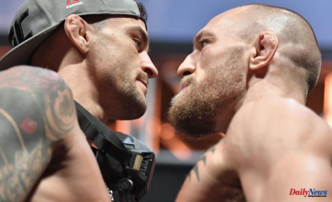UFC 264 Conor McGregor vs Dustin Poirier