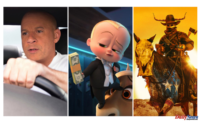 Uni Grips Top Three Spots of July 4th B.O. 'F9' Crosses $100M In Record Time Update with 'Boss Baby 2 & 'Forever Purge
