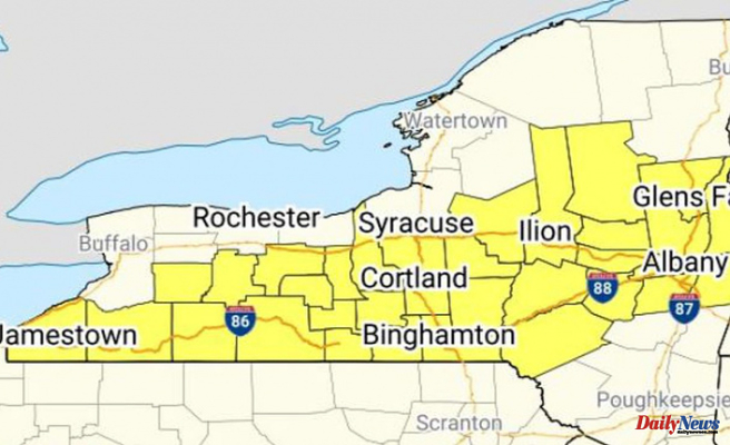 Upstate NY issued severe thunderstorm watch