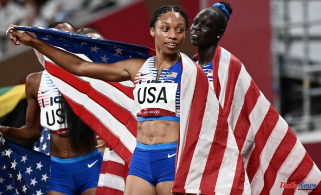 Allyson Felix is the most decorated American track athlete in Olympic Olympic history