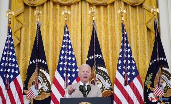 Biden nudges Senate over 'historic' $1T infrastructure bill