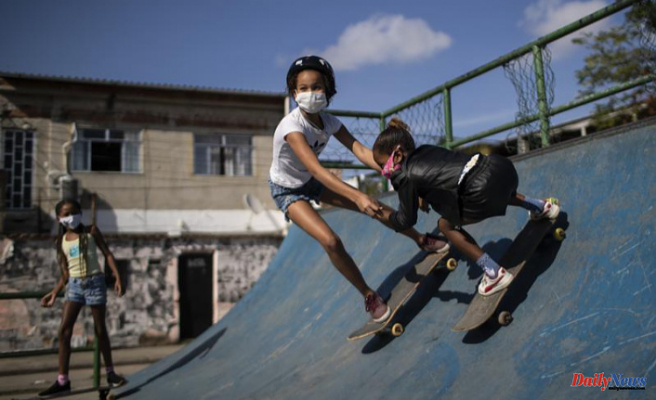 Brazil Olympic Skateboarding is a tropical fairytale for girls