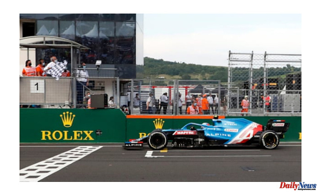 Esteban Ocon wins his maiden F1 race in the chaotic Hungarian Grand Prix