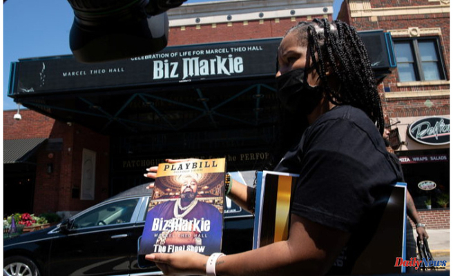 Funeral Service for Rapper Biz Markie held in Patchogue
