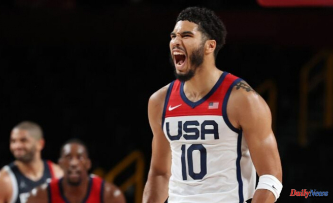Jayson Tatum adopts an Olympic-themed nickname after Team USA's victory
