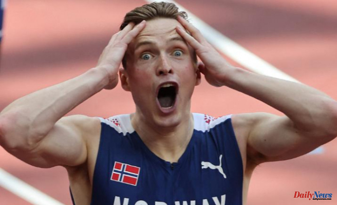 Karsten Warholm breaks the 400m hurdles record to win the 'best race ever in Olympic history'