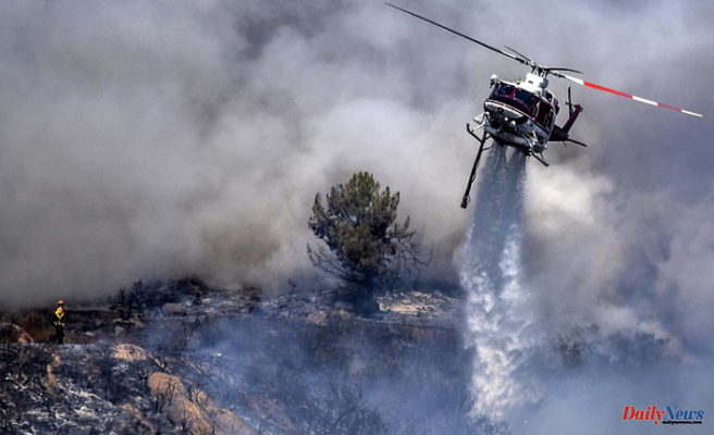 Lake Tahoe is under threat from a massive fire. More ordered to flee