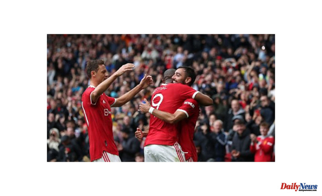 Manchester United defeat Everton in the final preseason friendly
