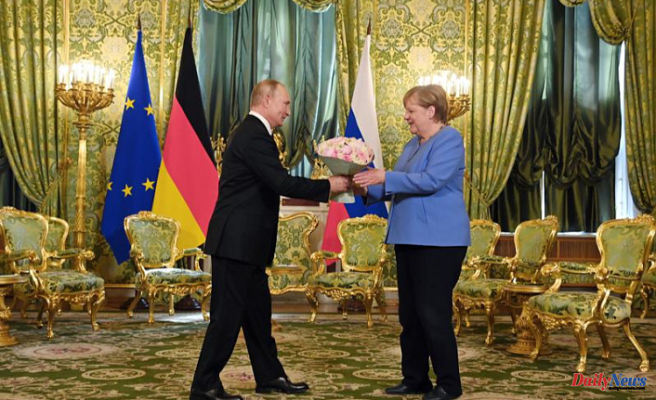 Merkel and Putin disagree over Navalny, but they both vow to continue dialogue