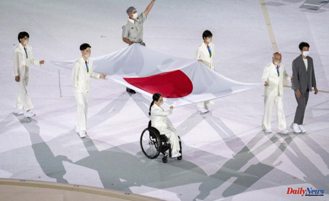 Paralympics are held in an empty stadium -- much like the Olympics