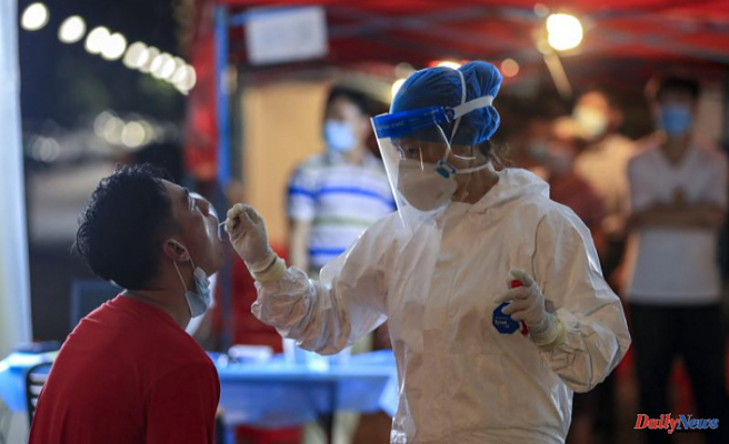 The latest: China penalizes 30 officials who failed to prevent pandemics