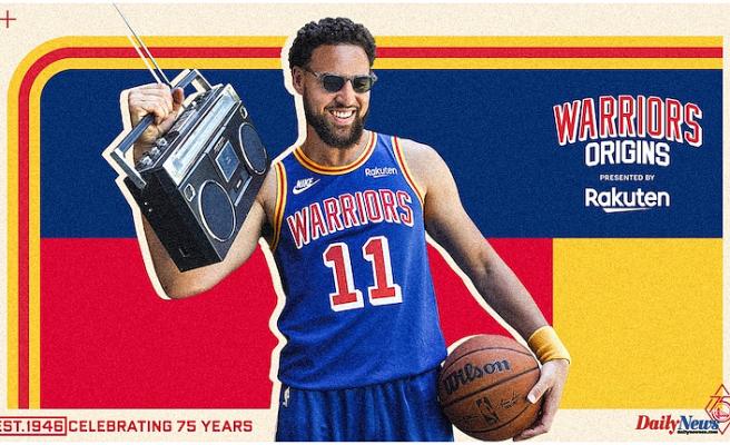 Warriors Unveil 2021-22 Warriors Origins Jersey presented by Rakuten in advance of the 75th Anniversary Season