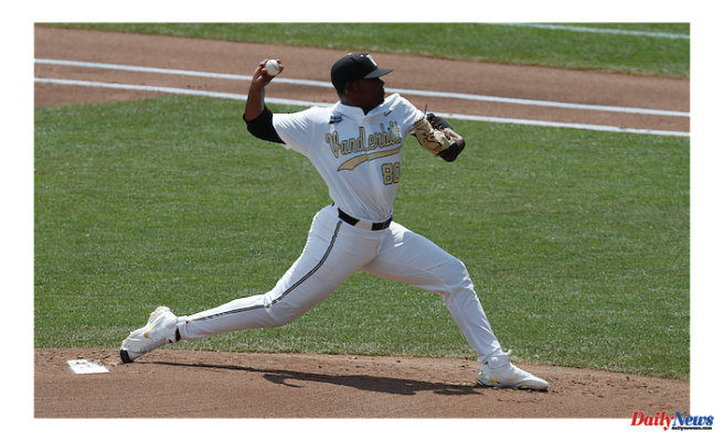 Why didn't Kumar Rocker sign with the New York Mets?