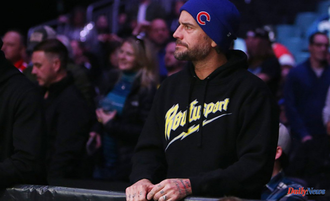Back in pro-wrestling, CMPunk is no longer on the UFC roster