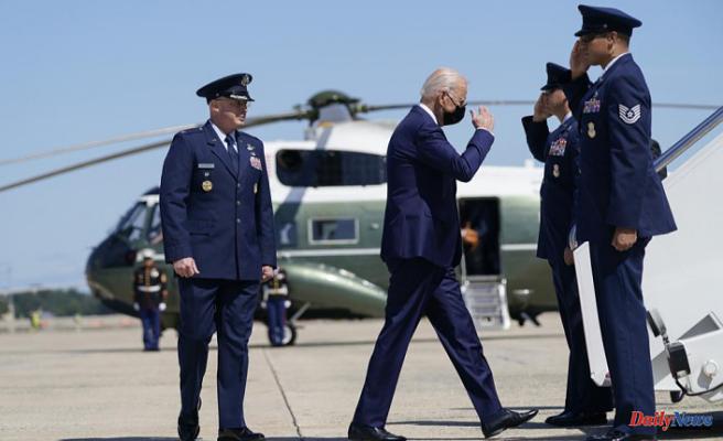 Biden will mark the 20th anniversary 9/11 at three memorial sites