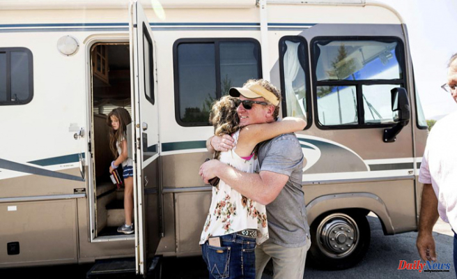 Donated RVs offer hope for wildfire victims who are left without a home