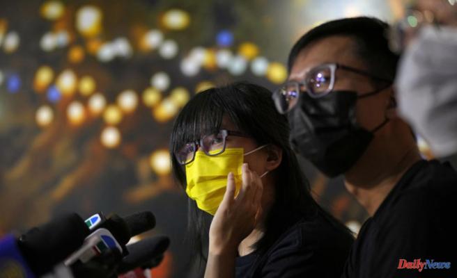 Group behind Hong Kong's Tiananmen vigil denies foreign ties