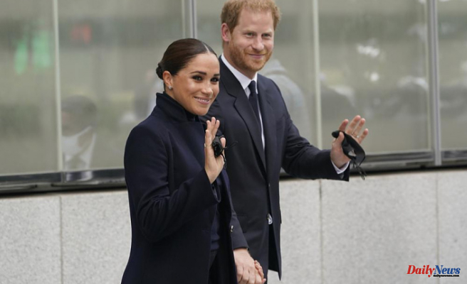 Harry and Meghan visit NYC landmarks, including the Sept. 11 memorial