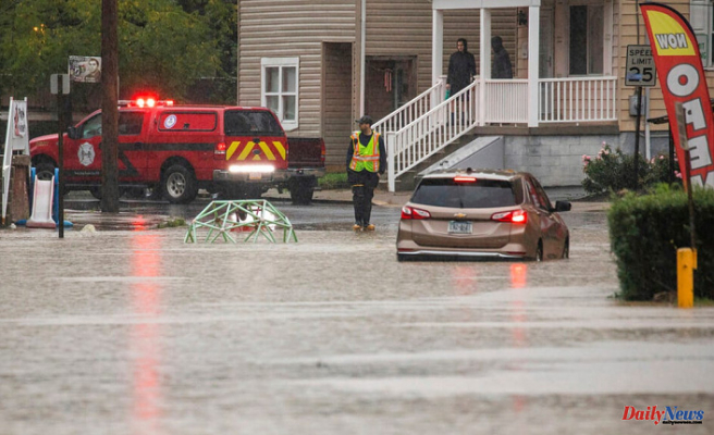 Heavy Rain Causes Evacuation below Johnstown Area Dam