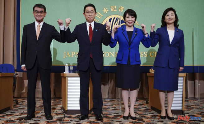Japan's next PM needs to work fast on China, virus, and economy